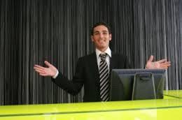 blog front desk attendant