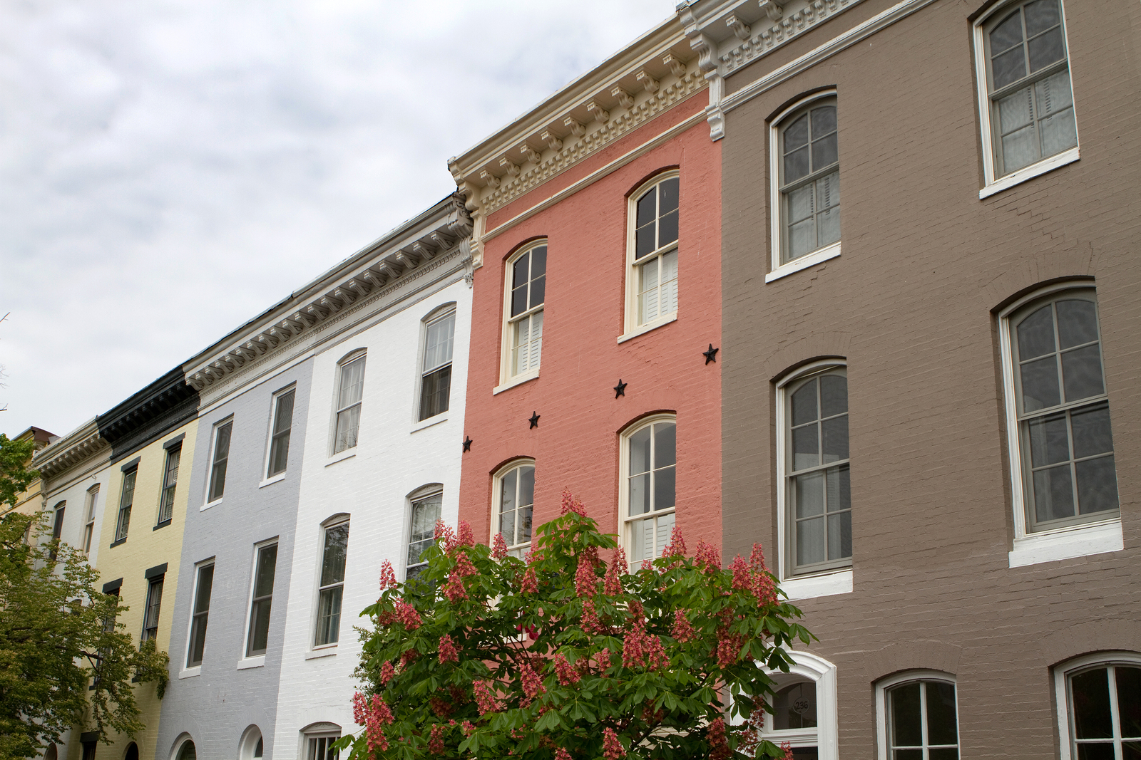 row house apartments