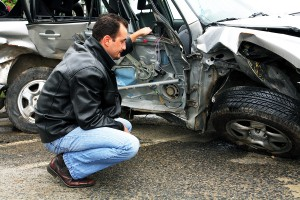 Inspecting Crash 300x200 - Which Drivers Are at Highest Risk for Getting into a Car Accident?