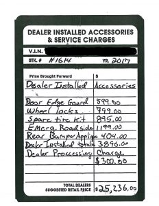 "1 232x300 - New Car ""Dealer Installed"" Accessories Claims"