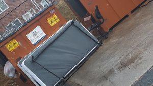 mattress at dumpster 300x169 - $125,000 Baltimore Bed Bug Bite Injury Settlement