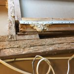 hidden termite damage in house flip