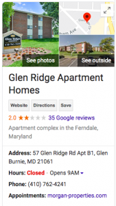 Screen Shot 2020 01 09 at 5.49.44 AM 169x300 - Morgan Properties Sued AGAIN for Bed Bugs at Glen Ridge Apartments