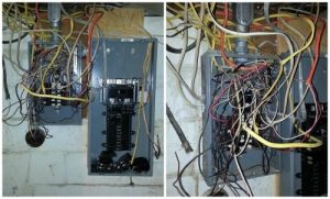 bad wiring by house flippers 300x181 - Suing House Flippers for Hidden Home Damage