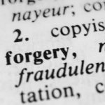 lawyer for forgery at Maryland dealerships