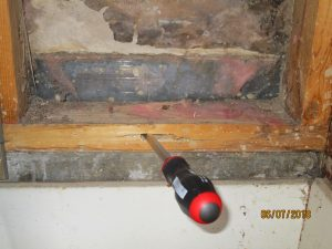 screwdriver in 2x4 1 300x225 - PestNow Pays $110,000 WDI/Termite Inspection Settlement to Avoid Trial