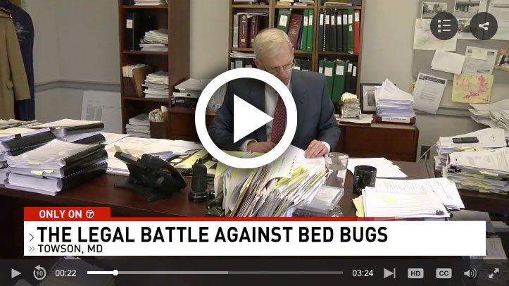 Dan Whitney Bed Bugs Video Screenshot